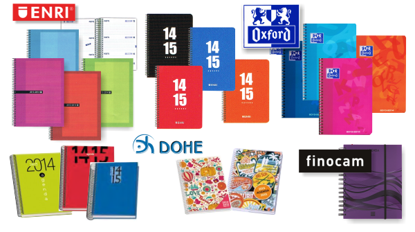 Agendas escolares 2014-2015